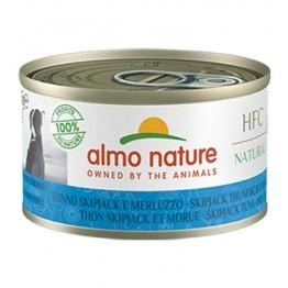 Almo Nature HFC Dog Natural - con Tonno Skip Jack e Merluzzo 95 gr.
