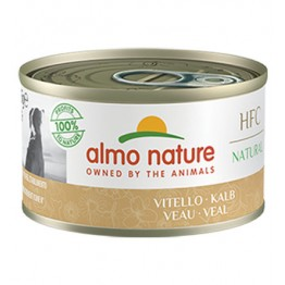 ALMO HFC DOG NATURAL - con Vitello 95 gr.