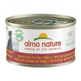 Almo Nature HFC Dog Natural - Manzo con Patate e Piselli 95 gr.