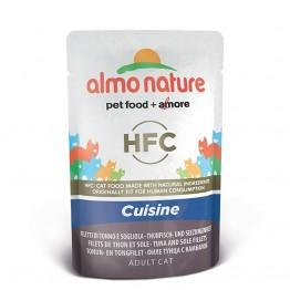 Almo Nature HFC Cat Jelly - Filetto di Tonno e Sogliola 55gr