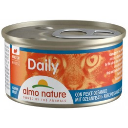 Almo PFC Cat Daily Menu Mousse con Pesce Oceanico 85 gr.