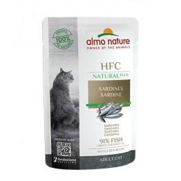 ALMO HFC CAT NATURAL PLUS Sardine 55 gr.