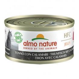 ALMO HFC CAT NATURAL Jelly - Tonno con Calamari 70 gr.