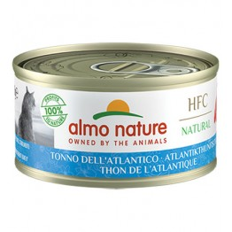 ALMO HFC CAT NATURAL - Tonno dell'Atlantico 70 gr.