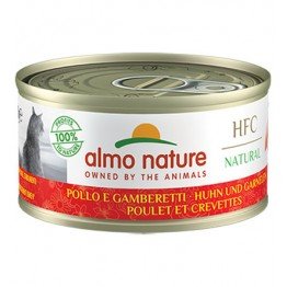 ALMO HFC CAT NATURAL - Pollo e Gamberetti  70 gr.