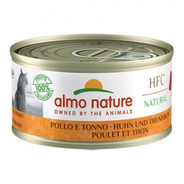 ALMO HFC CAT NATURAL - Pollo e Tonno 70 gr.