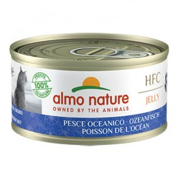 ALMO HFC CAT NATURAL Jelly - Pesce Oceanico 70 gr.
