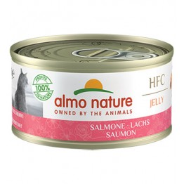 ALMO HFC CAT NATURAL Jelly - Salmone 70 gr.