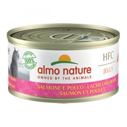 ALMO HFC CAT NATUARL Jelly - Salmone e Pollo 70 gr.