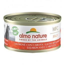 ALMO HFC CAT NATURAL Jelly - Salmone con Carota 70 gr.