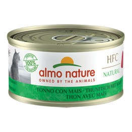 ALMO HFC CAT NATURAL - Tonno con Mais 70 gr.