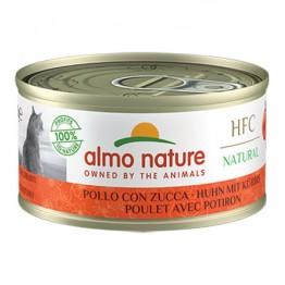 Almo HFC Cat Natural - Pollo con Zucca 70 gr.