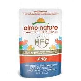 Almo HFC Cat Natural Jelly - con Tonno e sogliola  55 gr.