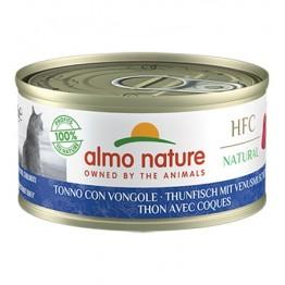 Almo HFC Cat Natural - Tonno con Vongole 70 gr.