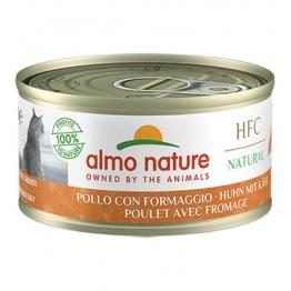 Almo HFC Cat Natural - Pollo con Formaggio 70 gr.