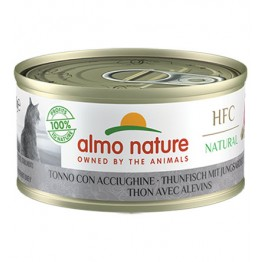 ALMO HFC CAT NATURAL - Tonno con Acciughine 70 gr.