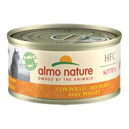 ALMO HFC CAT NATURAL - KITTEN con Pollo 70 gr.