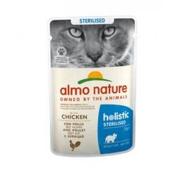Almo Holistic Cat Functional Sterilised - con Pollo 70 gr.