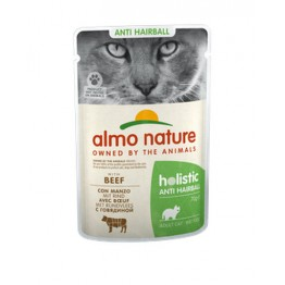 Almo Holistic Cat Functional Anti Hairball - con Manzo 70 gr.