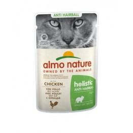 Almo Holistic Cat Functional Anti Hairball - con Pollo 70 gr.