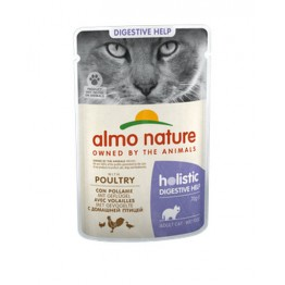 Almo Holistic Cat Functional  Digestive Help - con Pollame 70 gr.