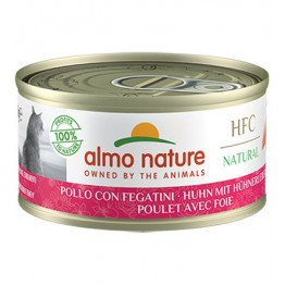ALMO HFC CAT NATURAL - Pollo e Fegato 70 gr.