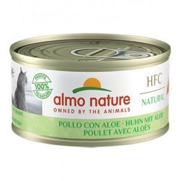 Almo HFC Cat Natural - Pollo con Aloe 70 gr.