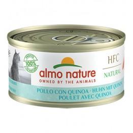 Almo HFC Cat Natural - Pollo con Quinoa 70 gr.
