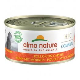 Almo HFC Cat Natural Complete - Pollo con Carote 70 gr.