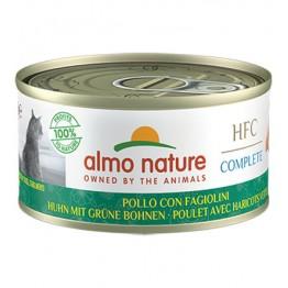 Almo HFC Cat Natural Complete - Pollo con Fagiolini 70 gr.