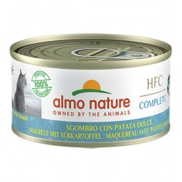 Almo HFC Cat Natural Complete - Sgombro con Patate dolce 70 gr.