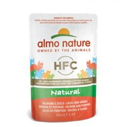 Almo Nature HFC Cat Natural - Salmone e Zucca 55 gr.