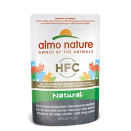 Almo Nature HFC Cat Natural - Filetti di Tonno e Acciughine 55 gr.