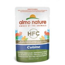 Almo HFC Cat Natural Jelly - Filetto di Tonno e Alghe 55 gr.
