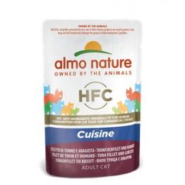 Almo HFC Cat Natural Jelly - Filetto di Tonno e Aragosta 55 gr.