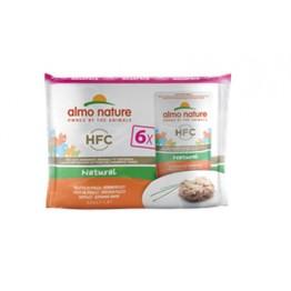 Almo Nature HFC Cat Natural - Filetto di Pollo (6 x 55 g Megapack)