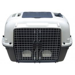 Trasportino per cani vagabond doppio ingresso 88x58,1x64,7cm