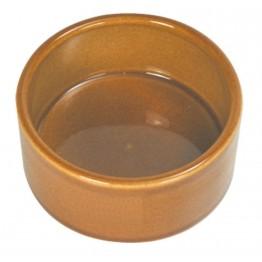 Godet en argile brun d=10cm h=4.5cm
