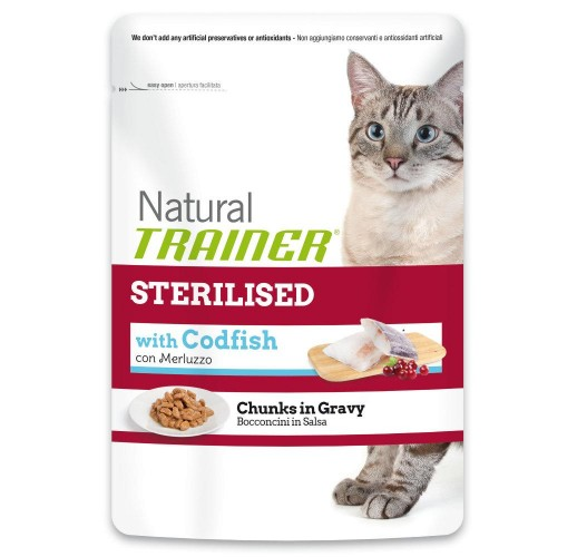 Trainer FELINE Nat. Ste. Codfish 85g