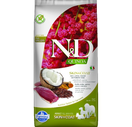 Farmina N&D Quinoa Canine Skin&Coat Duck & Coconut