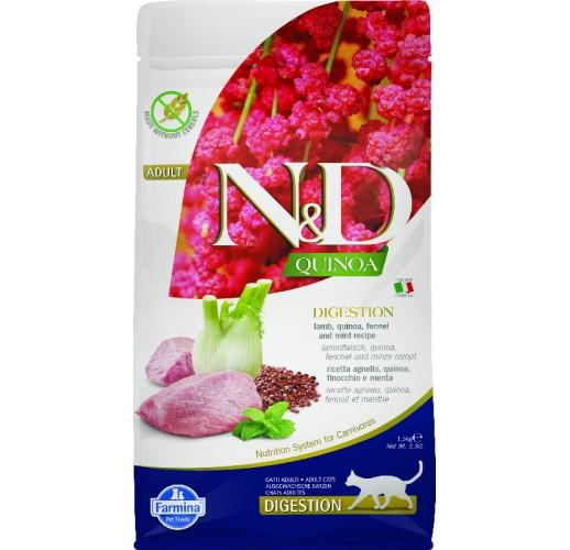 Farmina N&D Quinoa Feline Digestion Lamb & Fennel 1.5kg
