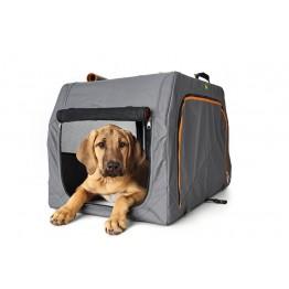 Trasportino per cani con telaio in alluminio S - 61x46x43cm