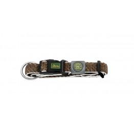 Collar Hilo Vario Plus, Mesh, marrone XL 45-70cm