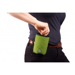 Belt bag Hilo Basic, lime  14 x 10 x 8 cm