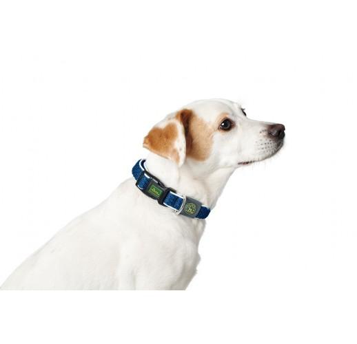 Collar Hilo Vario Plus, Mesh, blue  L-XL 40-60cm