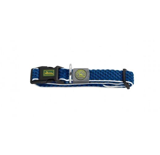 Collar Hilo Vario Basic, Mesh, blue  M-L  33-50cm