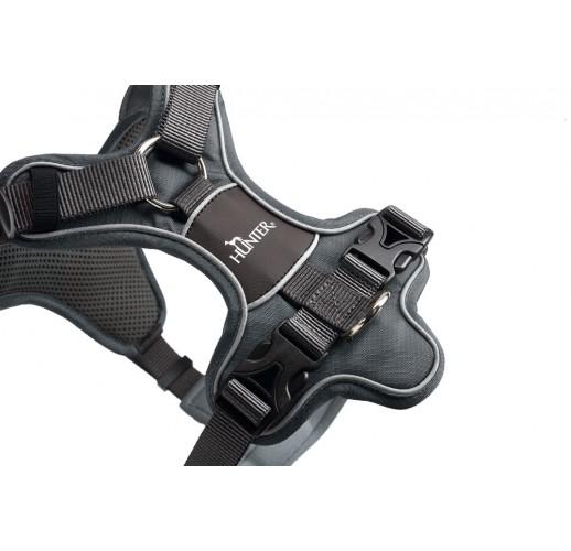 Harness Divo, grey/grey L-XL 79-107cm