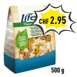 Lifedog Biscuits Mini bones 500g