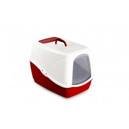 Cat litter tray BUFFY with active-filter, assorted colors