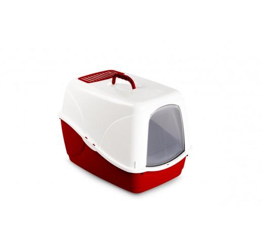 Toilette per gatto BUFFY con filtro antiodore, colori assortiti